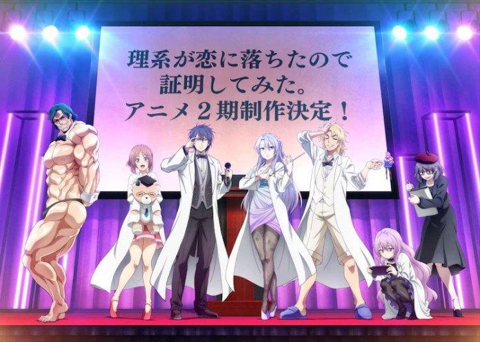 Imagem de anúncio da segunda temporada de RikeKoi.