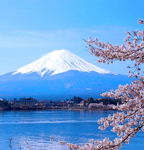 Foto monte Fuji