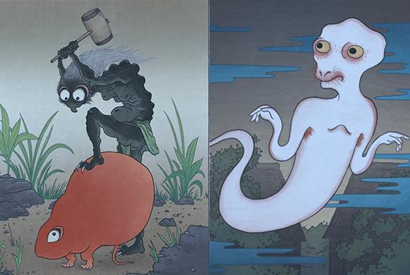 desenhos de yāoguài